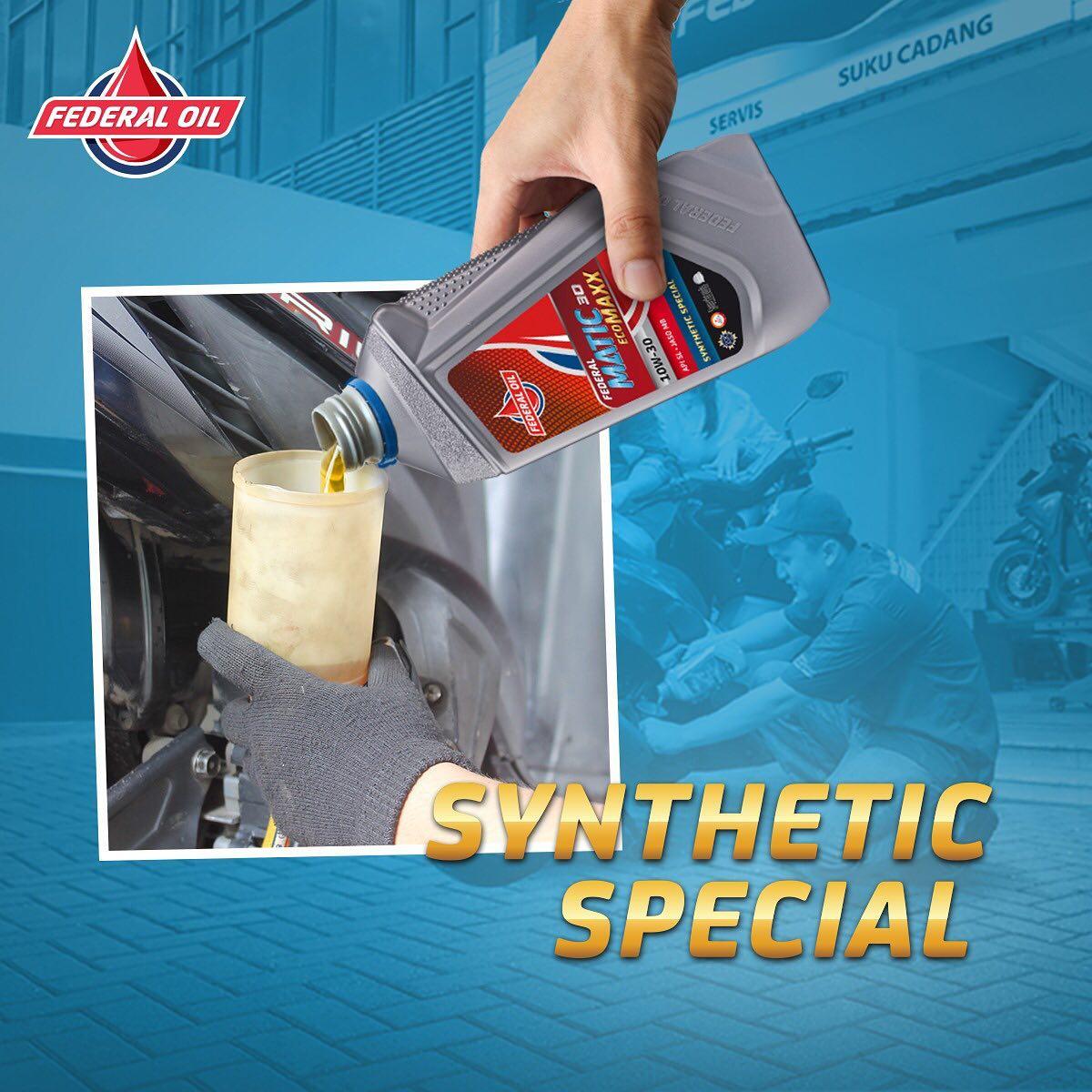 Pilihan Oli Motor Matic Full Synthetic, Untuk Motor Injeksi Yamaha, Honda dan Suzuki