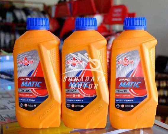 Federal Ultratec Matic, Cocok untuk Oli Sepeda Motor Matic yang Usianya Lebih Dari 5 Tahun