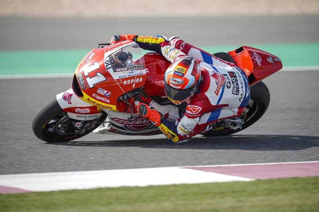 Hasil FP2 Moto2 Qatar 2021, Pembalap Federal Oil Tingkatkan Catatan Waktu