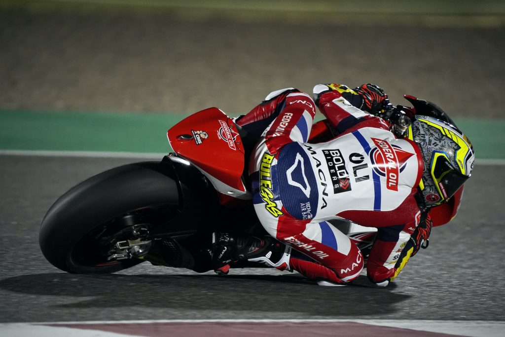 Jelang MotoGP Qatar, Pembalap Federal Oil Moto2 Tunjukan Performa Positif
