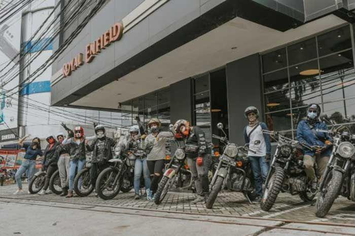 Begini Cara Lady Bikers Peringati Hari Perempuan Sedunia