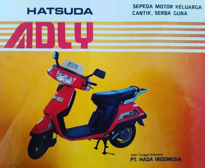 Ternyata Ini Lho, Motor Matic Pertama di Indonesia