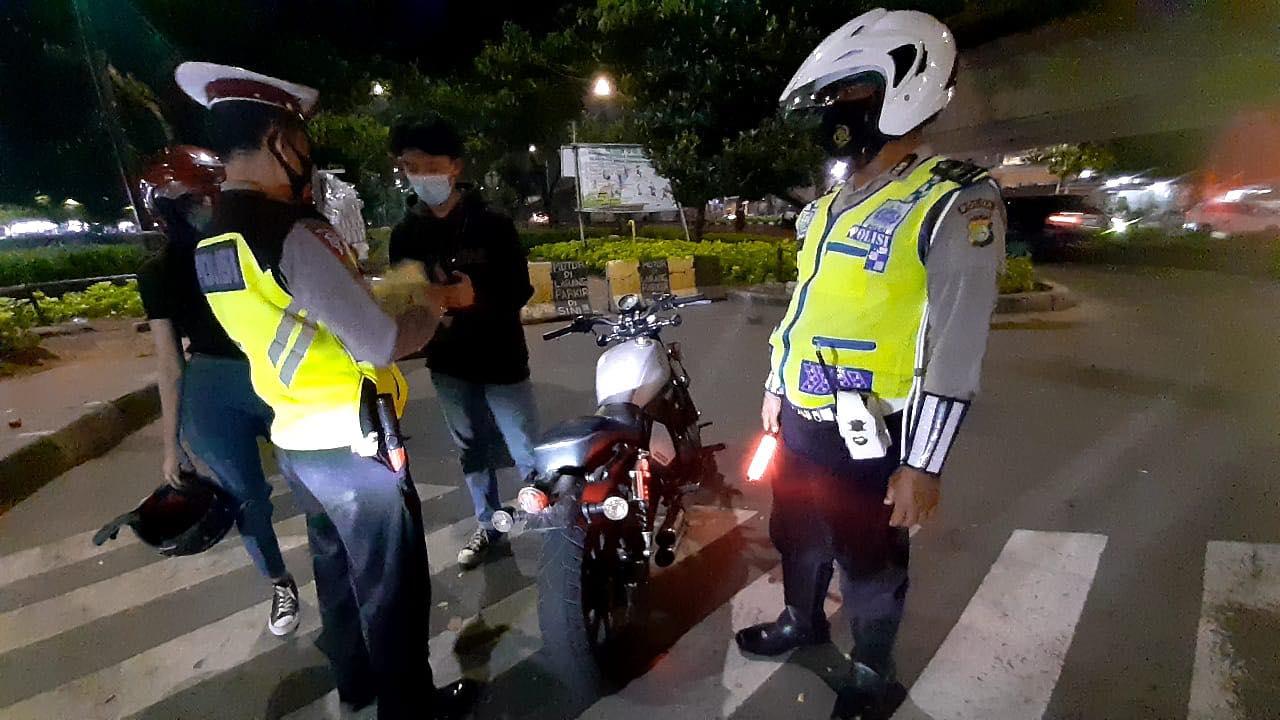 Polisi Akan Terus Memberikan Tindakan Tegas Bagi Pengendara yang Knalpotnya Bising