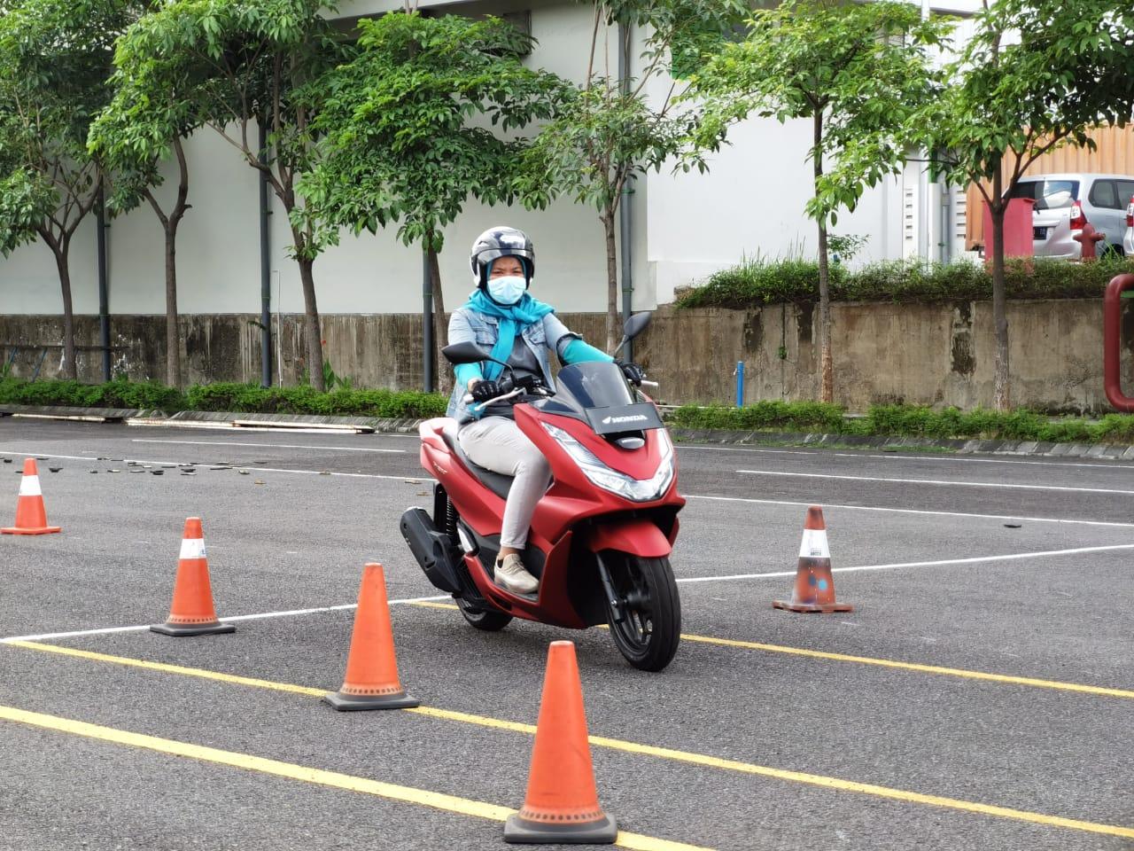 Ratusan Bikers di Jawa Timur Nyobain Motor Baru Matic 160cc