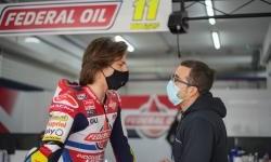 Tes Pramusim Moto2 2021 di Valencia, Fabio Di Giannantonio Raih Posisi Enam Besar