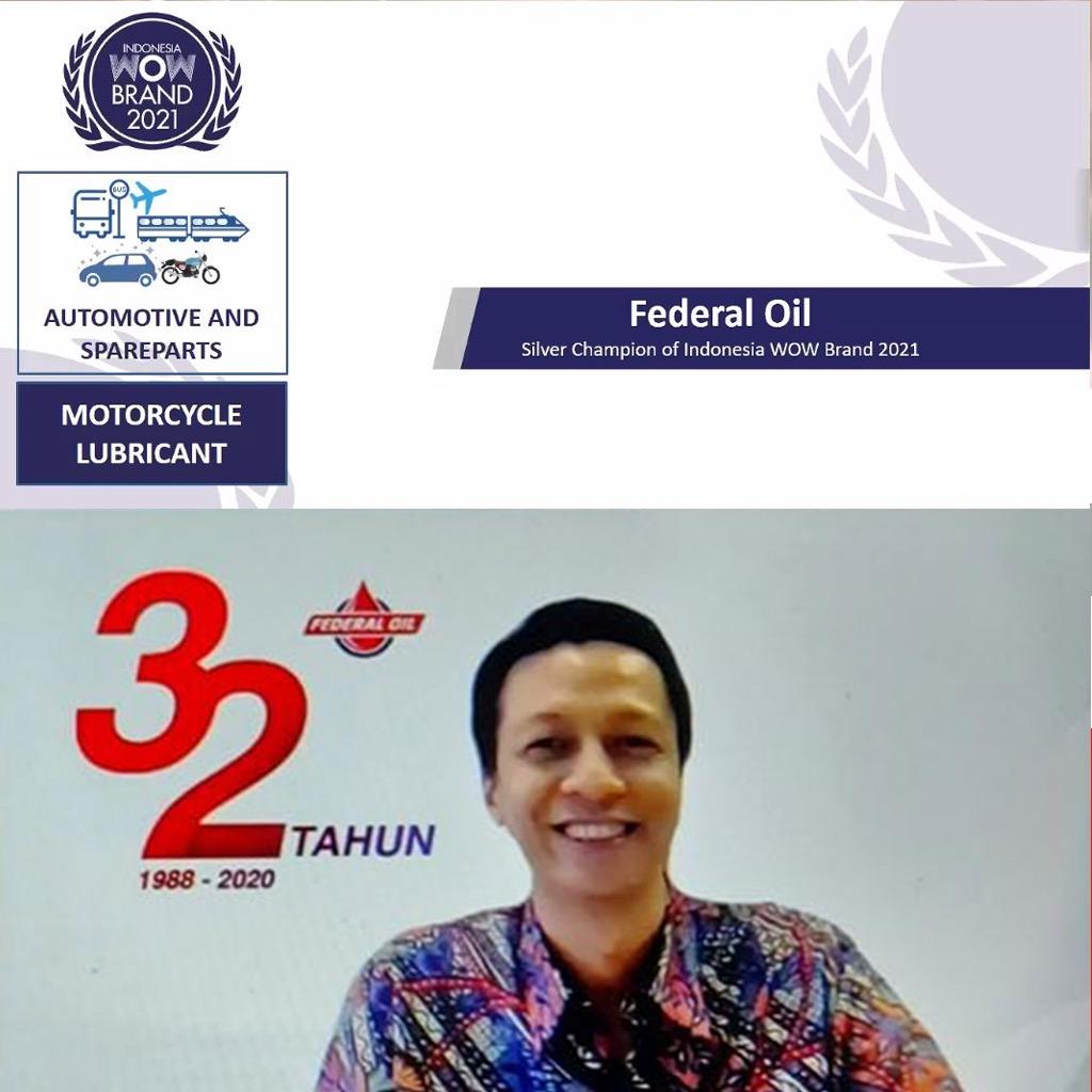 Selalu Jadi Solusi Pilihan Solusi Berkendara, Federal Oil Raih Wow Brand Award 2020 dan  Indonesia Branding Campaign of the Year