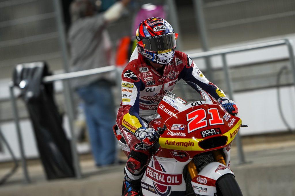 Moto2 Qatar 2021, Pembalap Federal Oil Akan Start Dari Baris Tiga dan Empat