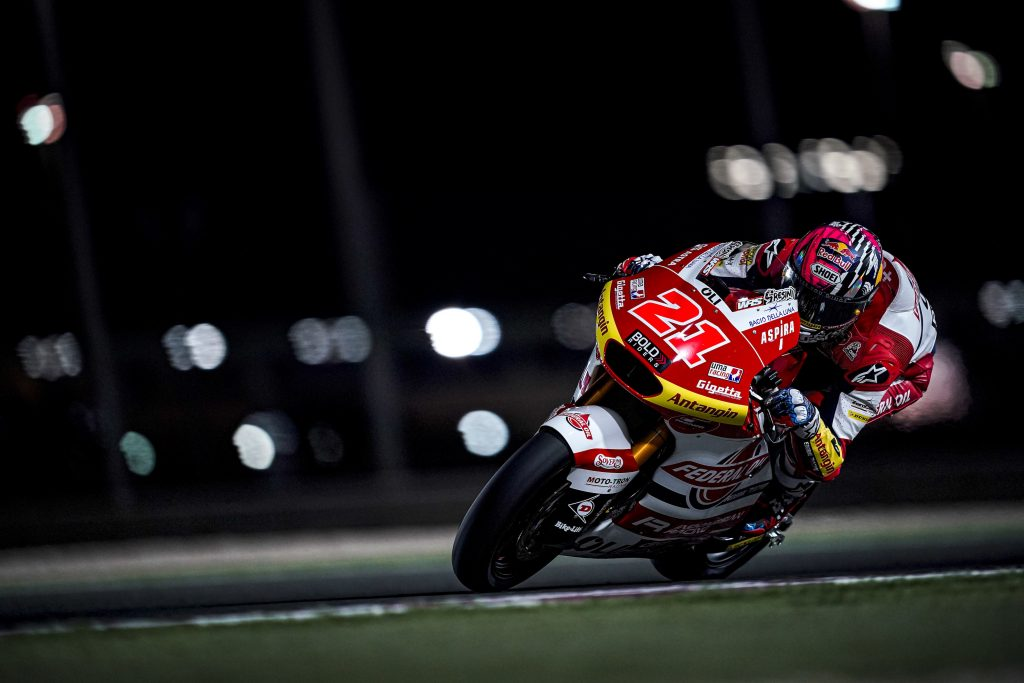 Tampil Cemerlang, Fabio Di Giannantonio Tercepat di FP1 Moto2 Doha Qatar 2021