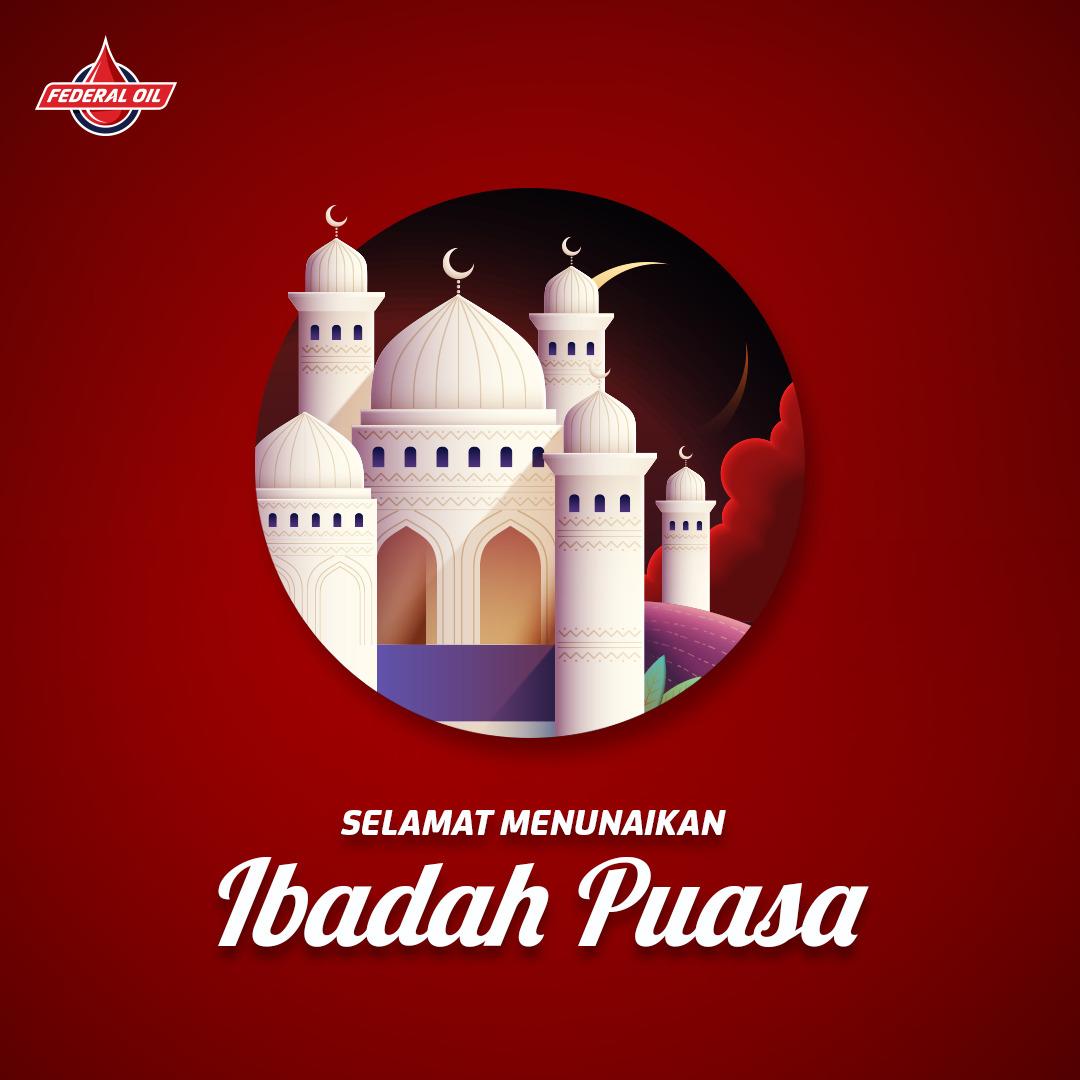 Selamat Menunaikan Ibadah Puasa Ramadhan 1442
