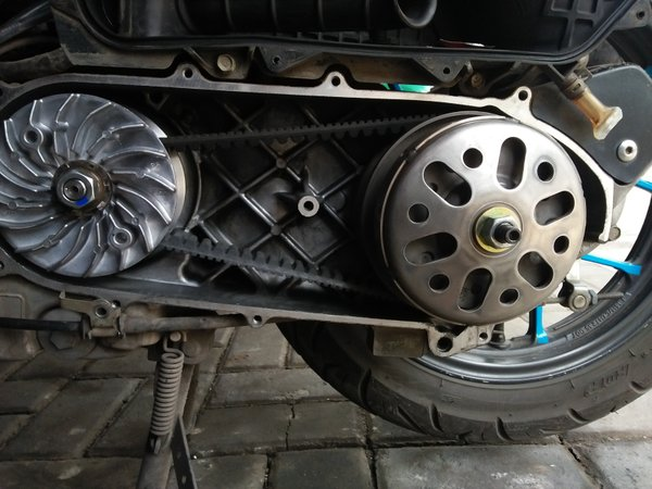 Cara Perawatan CVT Motor Matic Supaya Tidak Mudah Rusak