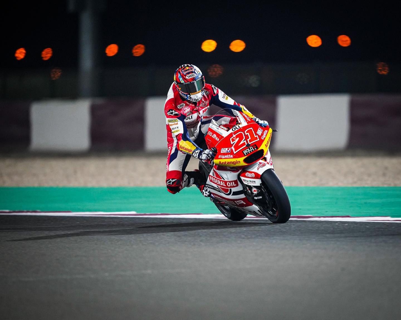 Hasil Kualifikasi Moto2 Doha 2021, Pembalap Federal Oil akan Start Dari Baris ketiga dan kelima di Moto2 2021 Seri 2