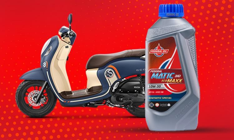 Rekomendasi Oli Untuk Motor Matic Honda Scoopy, Pakai Federal Ecomaxx