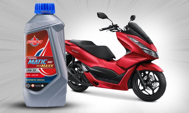 Federal Ecomaxx, Oli Yang Tepat Untuk Motor Matic Honda PCX 150
