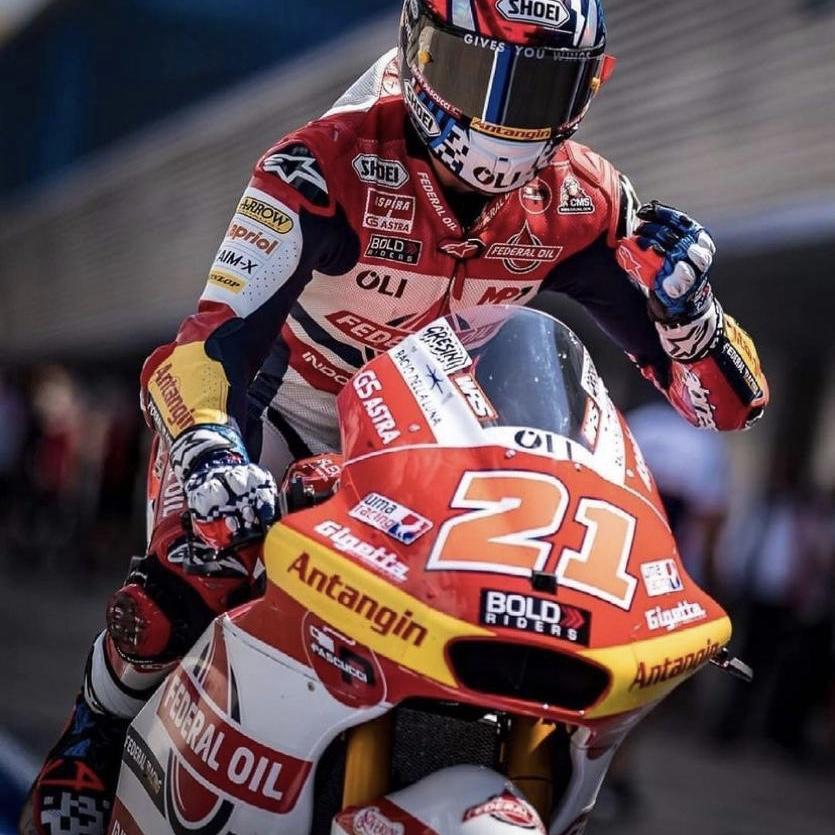 Hasil Balap Moto2 Jerez 2021, Fabio Di Giannantonio Menjadi Juara