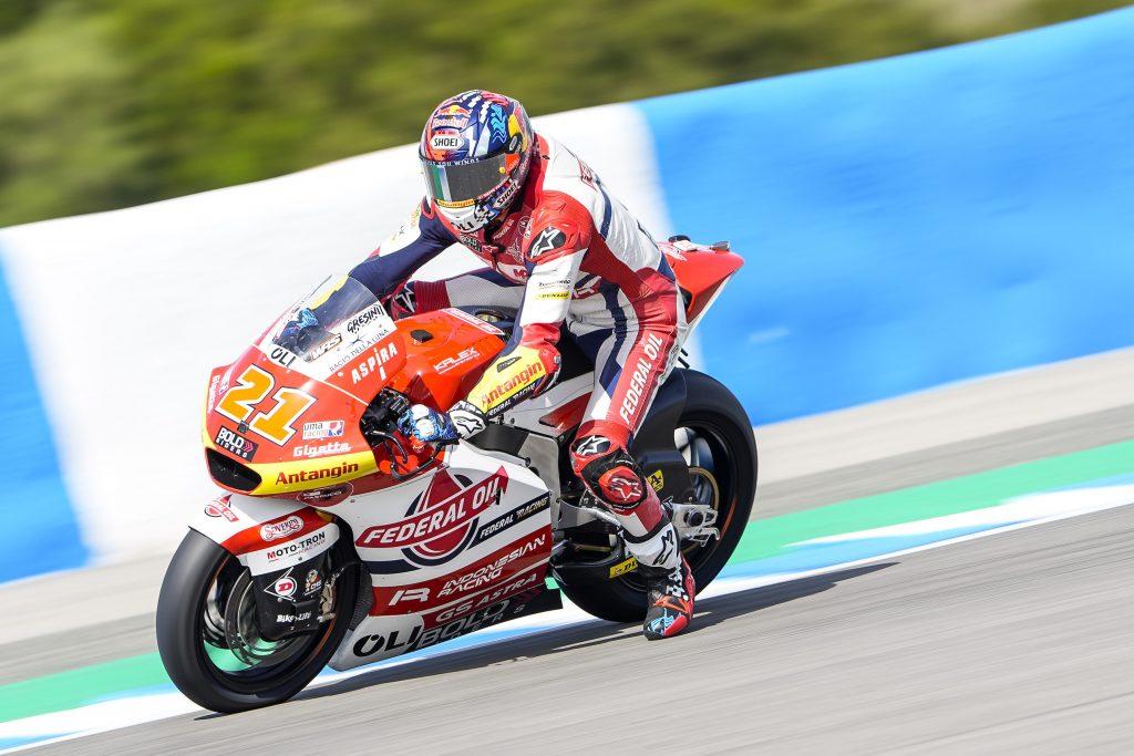 Luar Biasa, FP3 Moto2 Spanyol 2021 di Jerez Fabio Digiannantonio Tercepat Kedua