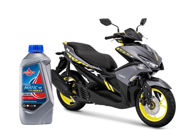 Oli Untuk Motor Matic Yamaha Aerox dan Nmax Terbaru