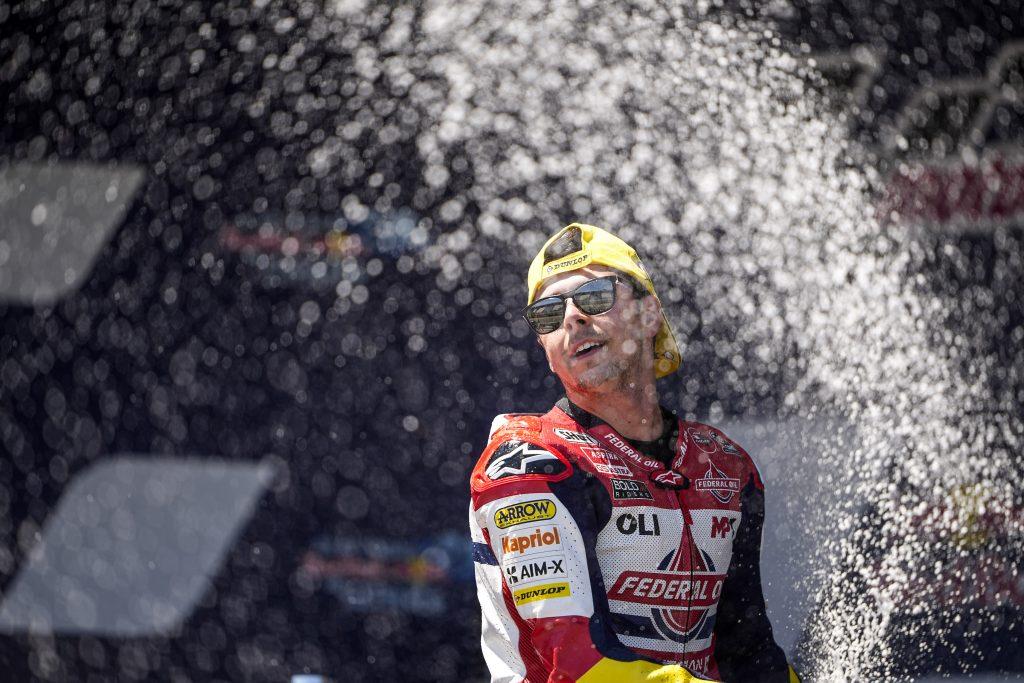 Menang di Moto2 Jerez, Fabio Di Giannantonio: Kemenangan ini Untuk Fausto Gresini