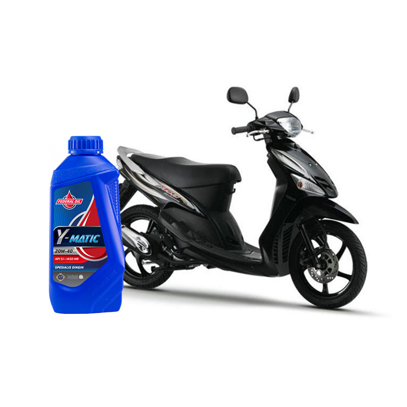 Oli Yang Cocok untuk Motor Matic Yamaha Mio Sporty Lawas