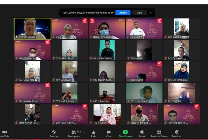 Ratusan Pemilik Motor di Indonesia Silaturahmi Secara Virtual