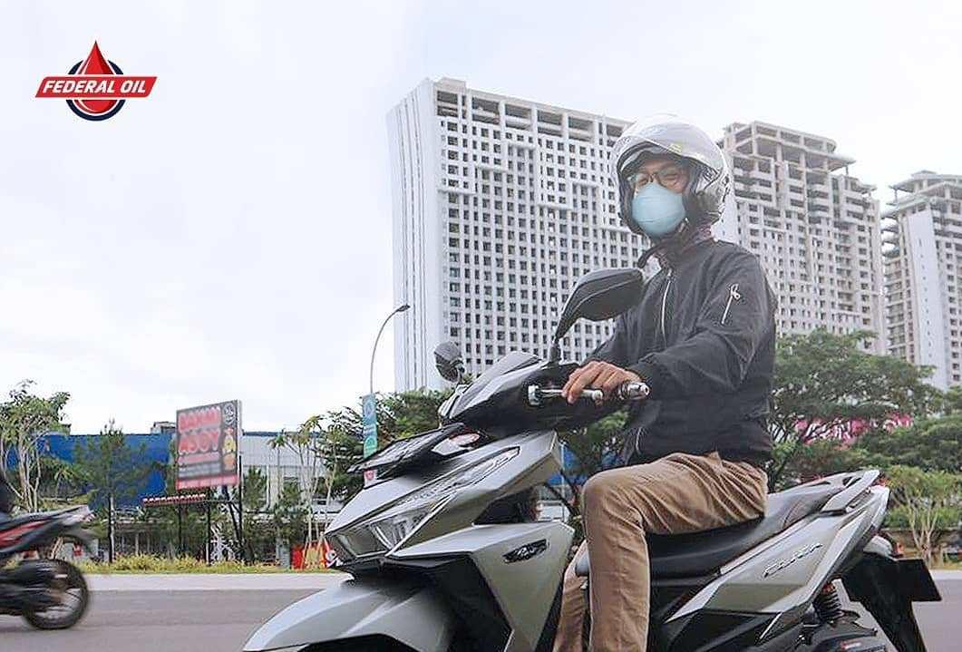 Tisp Aman Memakai Masker Saat Berkendara Selama Masa Pandemi