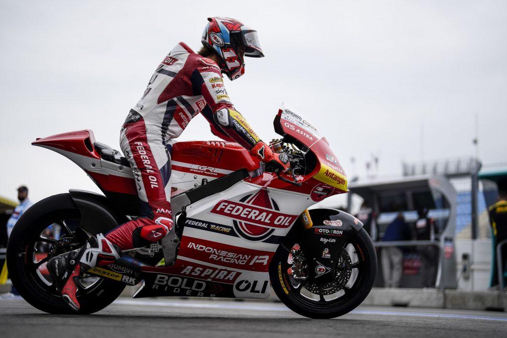 Pembalap Federal Oil Berharap Hujan di Moto2 Assen 2021