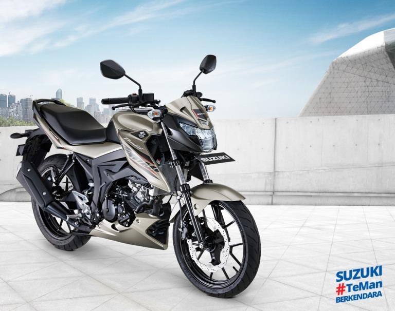 Harga Motor Sport 150cc Suzuki Terbaru Bulan Juni 2021