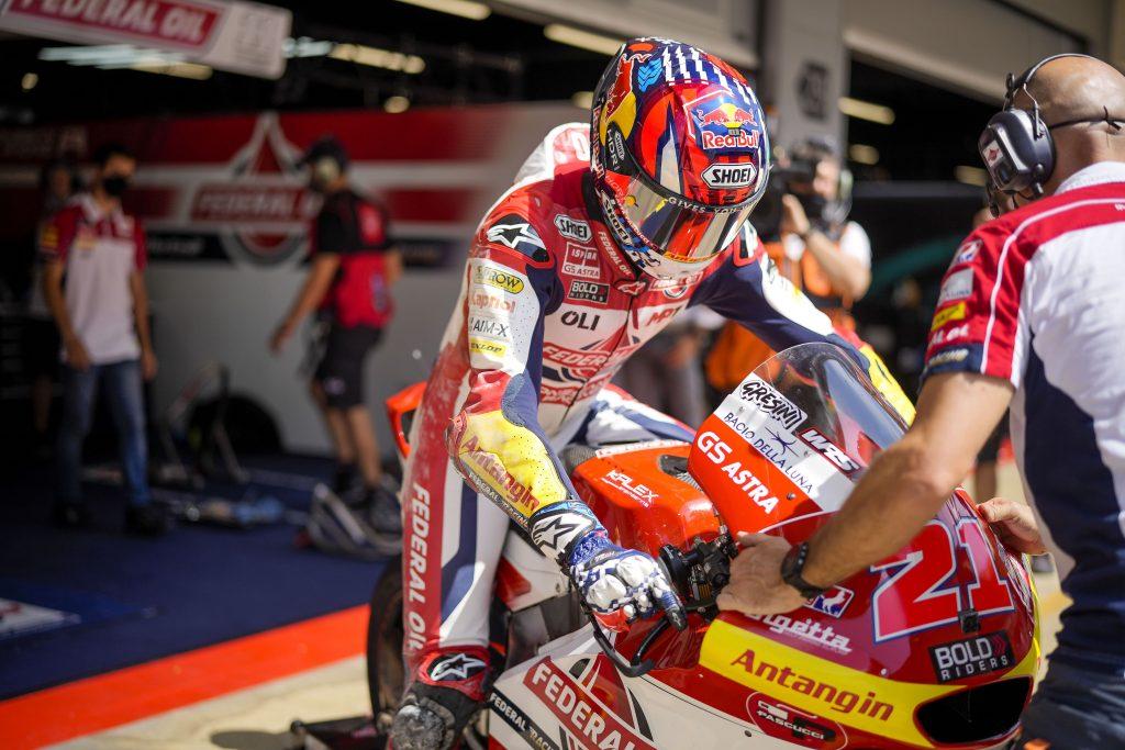 Hasil FP3 Moto2 Silverstone 2021, Diggia Perbaiki Catatan Waktu
