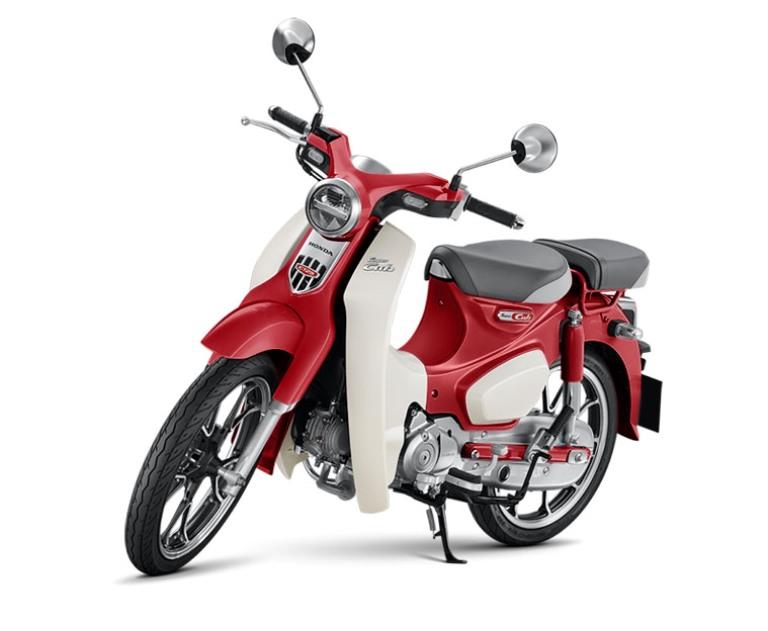 Motor Bebek Retro Honda Super Cub C125 Dirilis Makin Stylish dan Unik