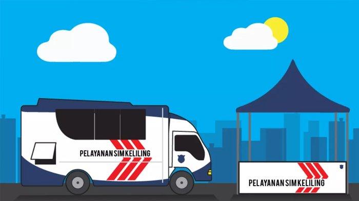 Tempat Pelayanan SIM Keliling Hari ini di Jakarta Sabtu 21 Agustus 2021