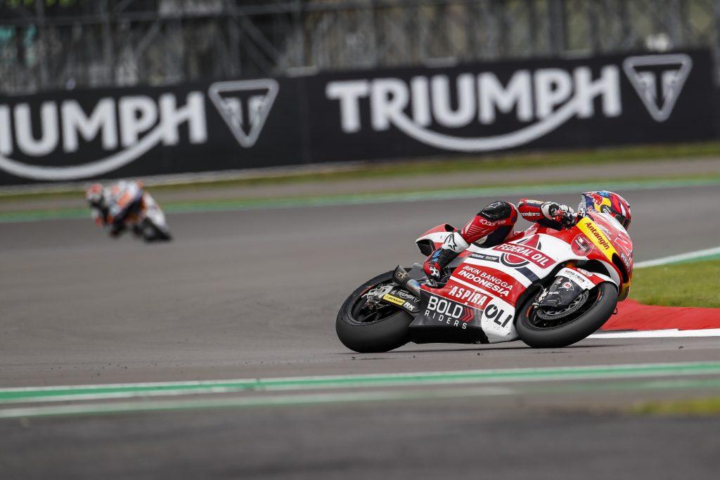 Pembalap Federal Oil Finish ke 5 di Moto2 Silverstone Inggris 2021