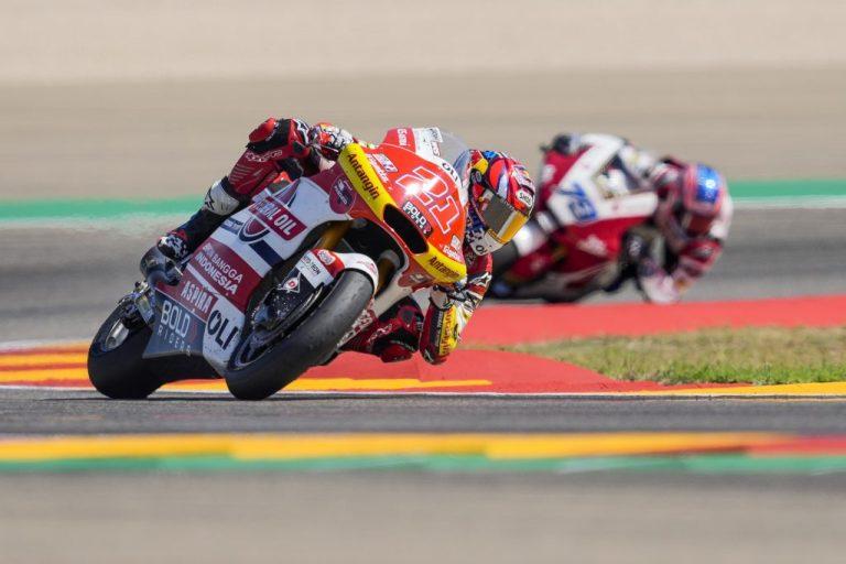 Finish Posisi 6 di Moto2 Aragon 2021, Federal Oil Berikan Apresiasi untuk Fabio Di Giannantonio